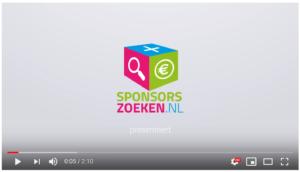 sponsorszoeken promovideo